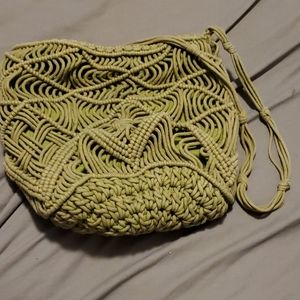 Handbags - knotted purse